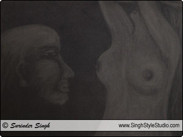 चित्र ललित कला चित्रकला दिल्ली भारत चित्रकार कलाकार दिल्ली