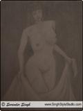 नग्न चित्रकला दिल्ली चित्रकार दिल्ली भारत